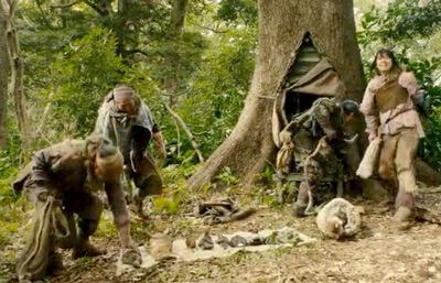 サシャと狩人仲間たち