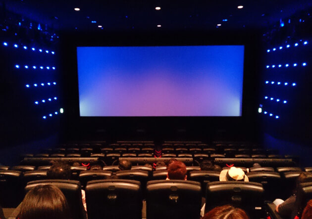 4DX劇場内