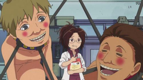 ハンジさんドッグフード食べる