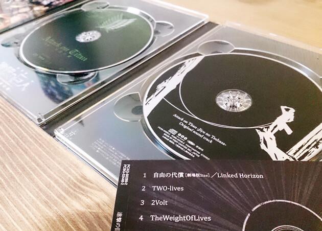 劇場版後編オリジナルサウンドトラックCD