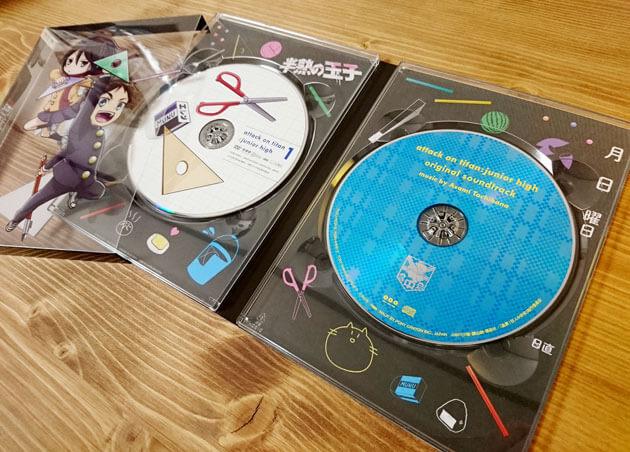 「進撃!巨人中学校」サウンドトラックCD