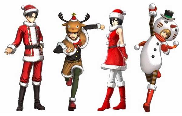 DLC第4弾クリスマス