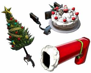 DLC第4弾クリスマス武器