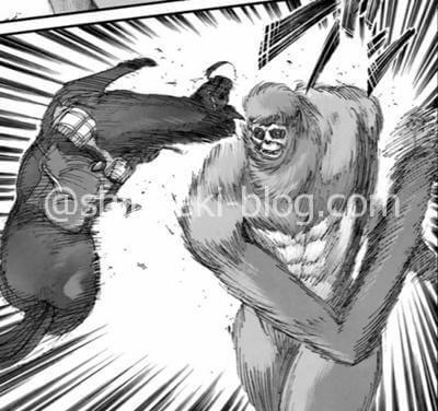 馬を投げる猿