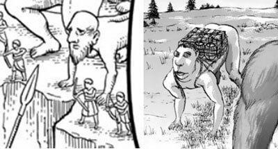 四足歩行巨人