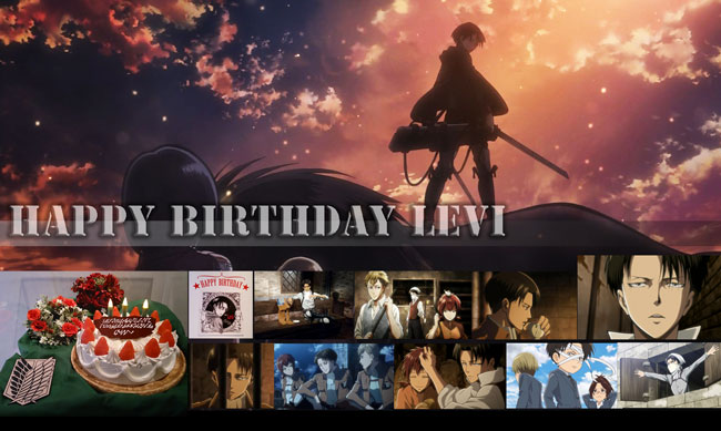 リヴァイ兵長お誕生日おめでとう