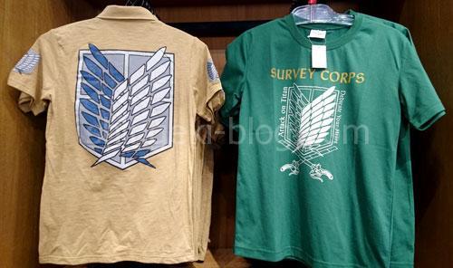 兵団服Tシャツ