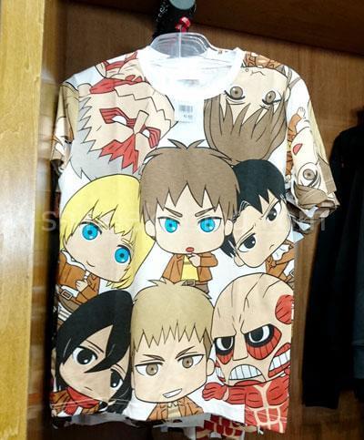 デフォルメキャラTシャツ(SML)3,600円