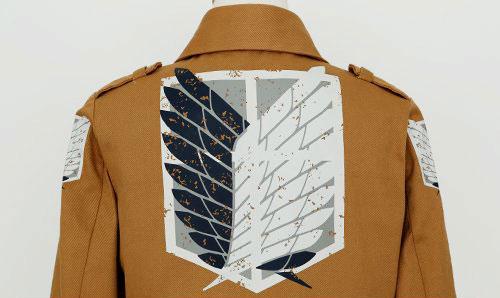 調査兵団のジャケット