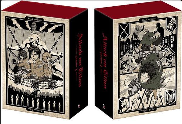 進撃の巨人アニメ1期DVDBOX