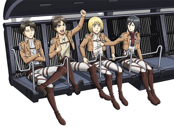 進撃の巨人 THE RIDE~トロスト区奪還作戦~