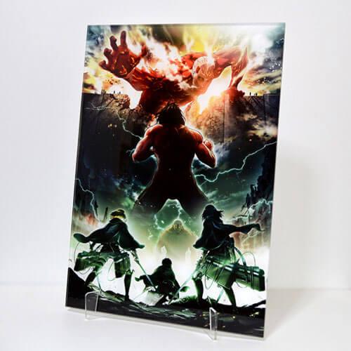 進撃の巨人 キャラファインアクリル Season 2 第1弾キービジュアル