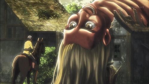 コニーの母に似てる巨人