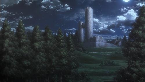 古城へ向かう