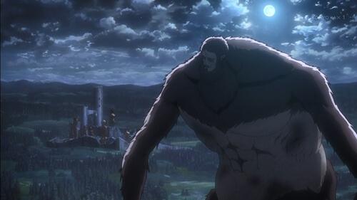 塔を見る獣