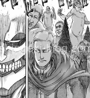 エルヴィンVS鎧の巨人