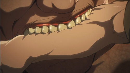 噛み付く巨人