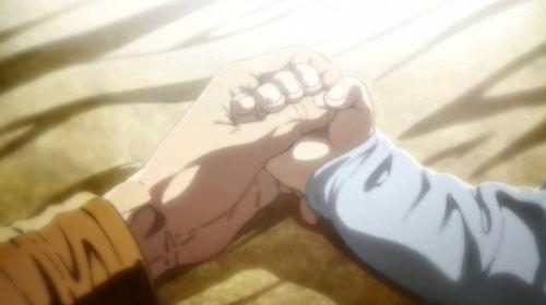 手をつなぐ描写
