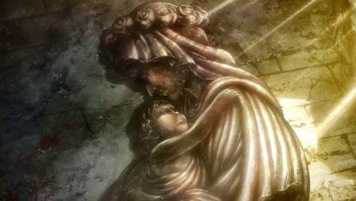 女神と子供
