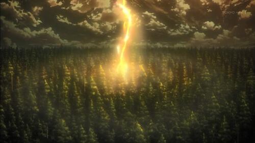 巨人化の光