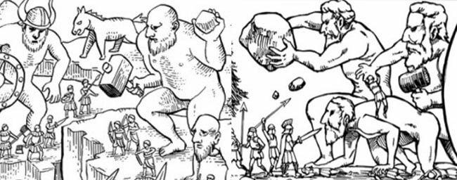 戦槌の巨人のイラスト