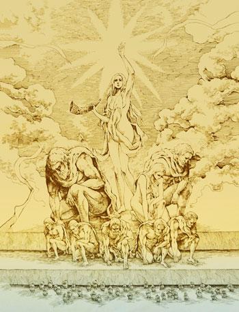始祖ユミルと九つの巨人