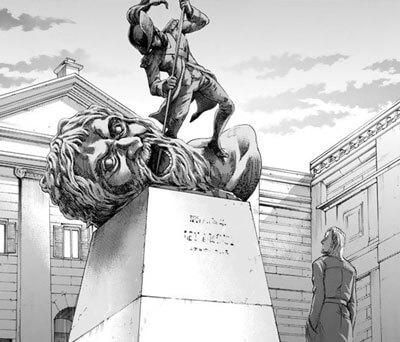 ヘーロスの像