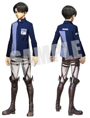 リヴァイのローソン制服姿