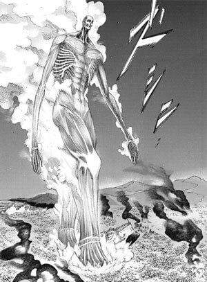 超大型巨人アルミン
