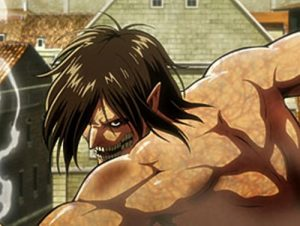 『進撃の巨人』アニメ1期 8話のアイキャッチ