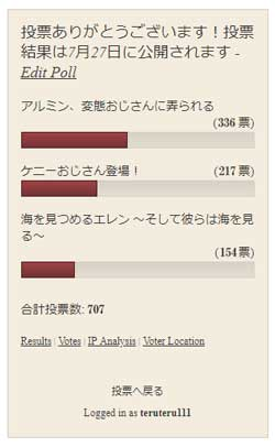 38話の投票結果