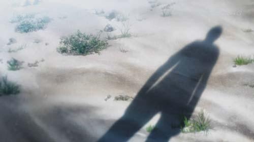 エレンの人影