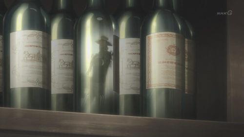 酒瓶に映るケニー