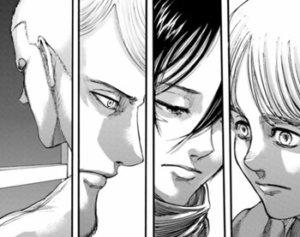 複雑な表情の4人