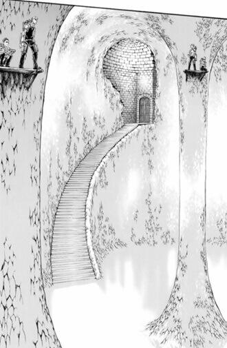 礼拝堂の地下