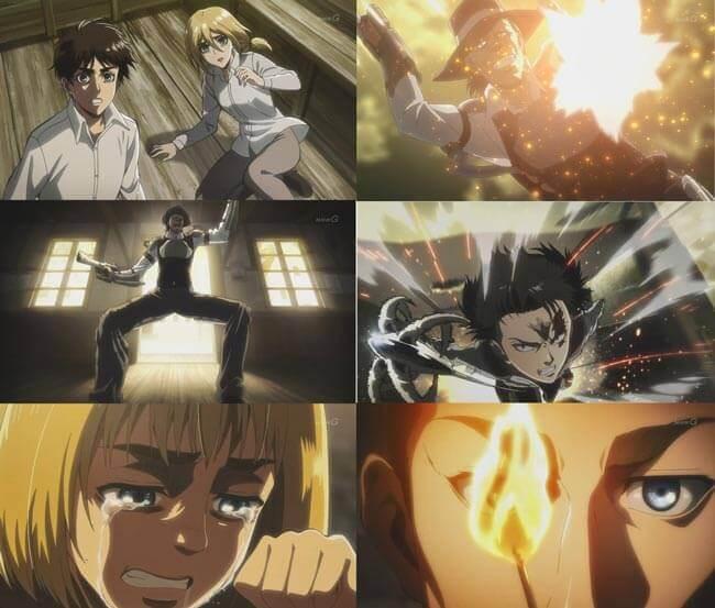 進撃の巨人アニメ3期の注目カット