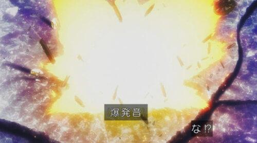 爆発する樽