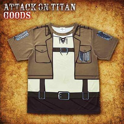 調査兵団服のTシャツ