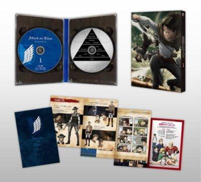 進撃の巨人Season3のBlu-ray&DVD第1巻の内容
