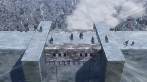 壁の上の調査兵団