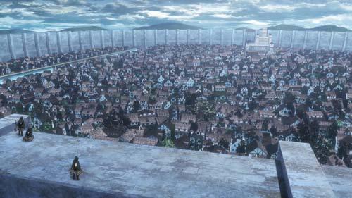 進撃の巨人アニメSeason3はじまりの街