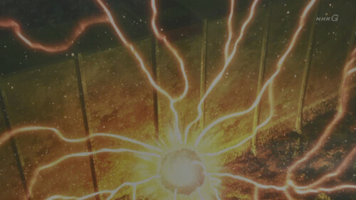 巨人化の閃光