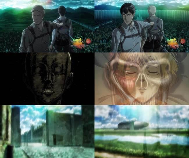 進撃の巨人アニメ3期のオープニングネタバレ画像