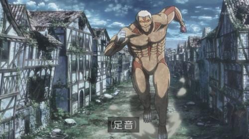 走る鎧の巨人