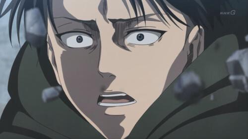 リヴァイの表情