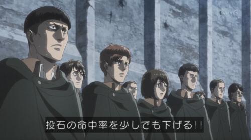 新兵達の表情
