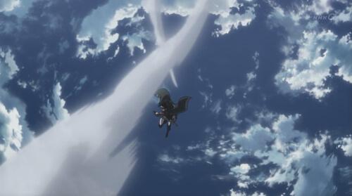 空飛ぶ兵長