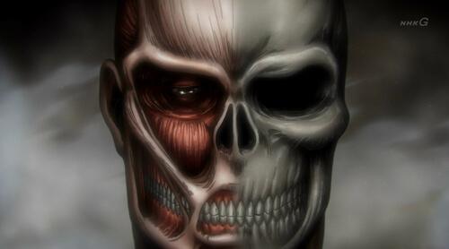 ベルトルトの骸骨が見てる