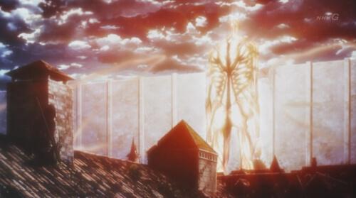超大型巨人光る