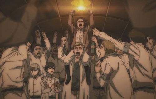 進撃の巨人アニメ第61話「闇夜の列車」の感想まとめ